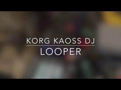 Korg Kaoss DJ as looper (Elektron Rytm) + single deck dj'ing