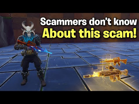 47% of scammers don't know about this scam! (Scammer Get Scammed) Fortnite Save The World