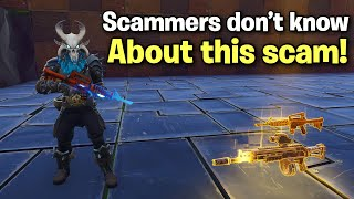 47% of scammers don't know about this scam! (Scammer Get Scammed) Fortnite Save The World thumbnail