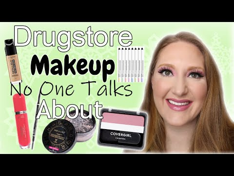 DRUGSTORE MAKEUP NO ONE TALKS ABOUT!