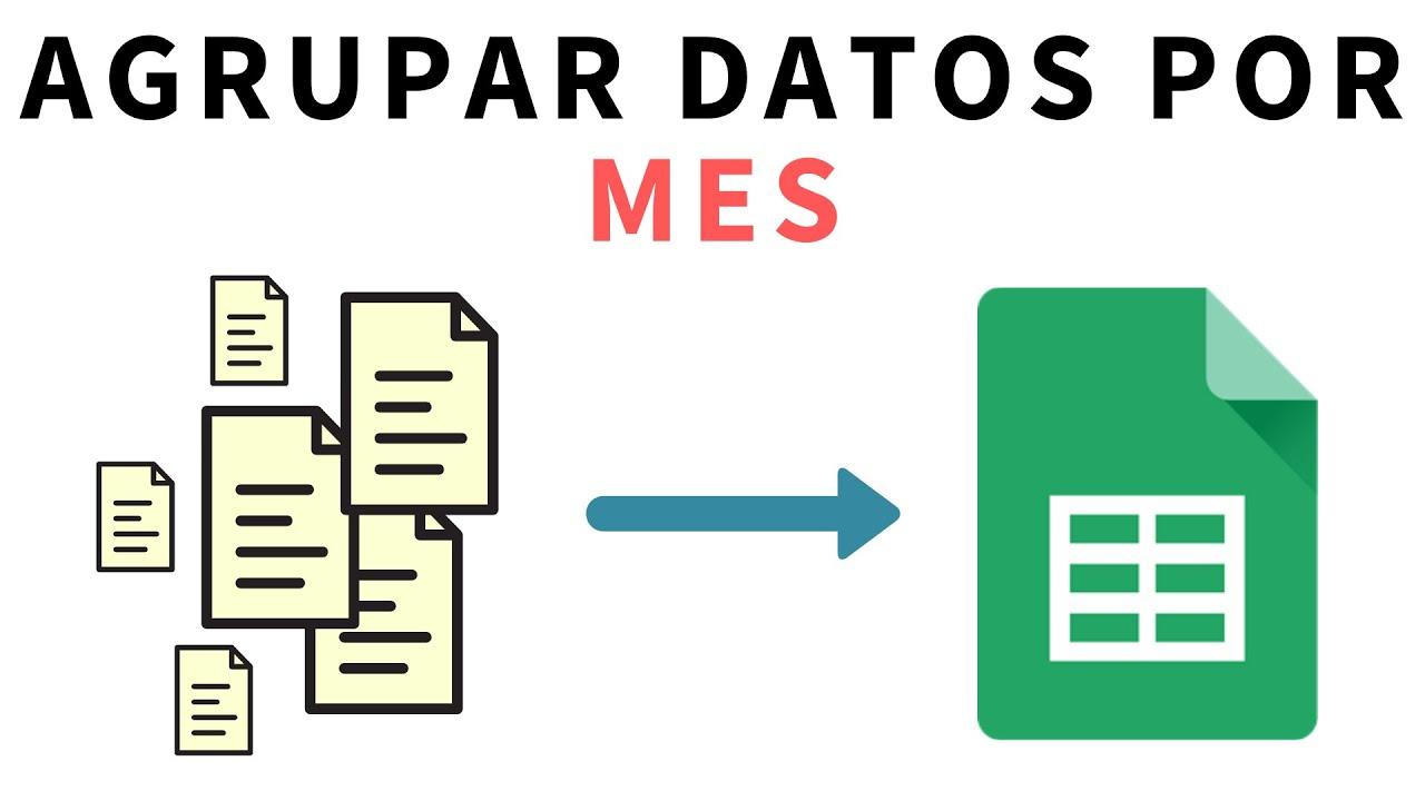 Download Agrupar datos por mes con tablas dinámicas en Hojas de Cálculo de Google (Google Sheets)