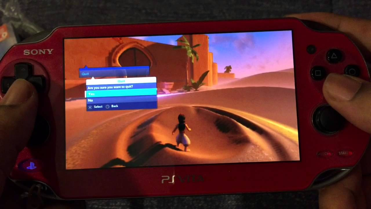 Ps Vita Disney Infinity 2 0 Off Screen Gameplay And Portal Linking Youtube