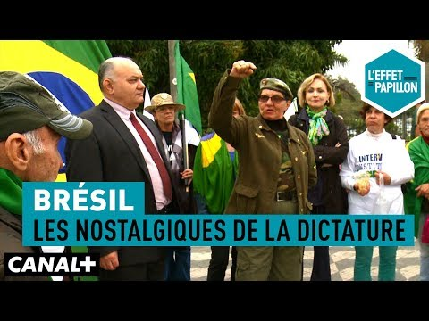 Brésil : Les nostalgiques de la dictature - L'Effet Papillon – CANAL+