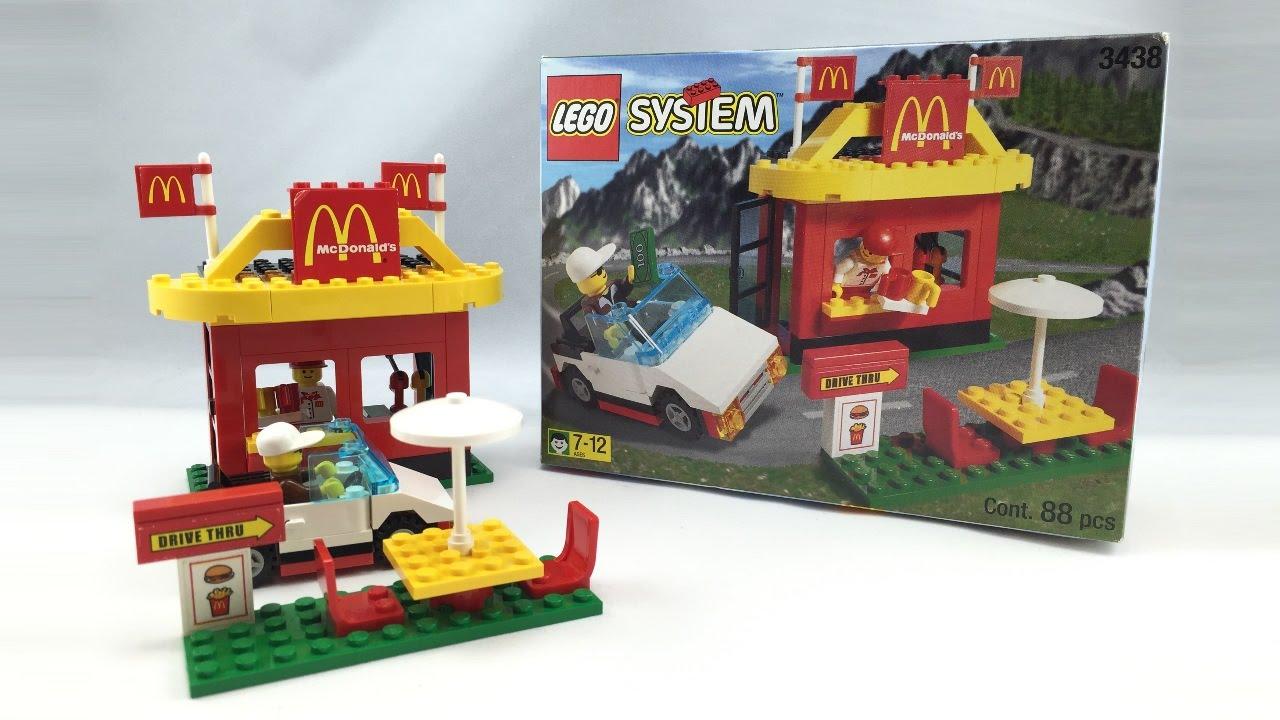 LEGO McDonald's review! 1999 set 3438! - YouTube