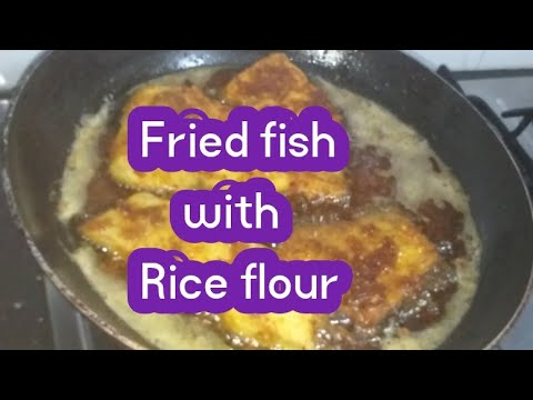 Fried Fish With Rice Flour/Crispy Fried Fish Easy Recipe !