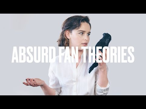 Emilia Clarke Reads 'Game of Thrones'  Theories  ELLE