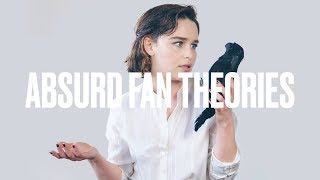 Emilia Clarke Reads 'Game of Thrones' Fan Theories | ELLE