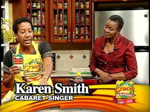 Karen Smith making Pilau - Grace Foods Creative Co...