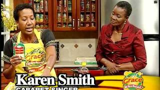 Karen Smith making Pilau - Grace Foods Creative Cooking