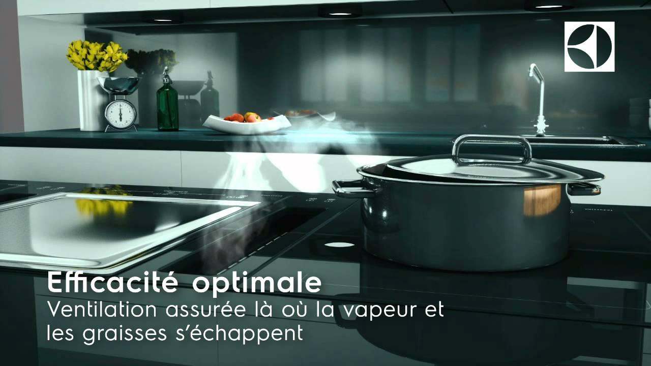 hotte aspirante pour plan de cuisson profiline d. Black Bedroom Furniture Sets. Home Design Ideas