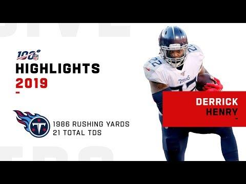 Derrick Henry Full Season Highlights | NFL 2019