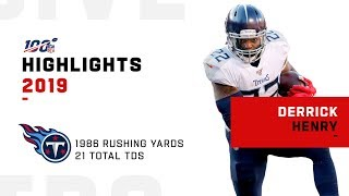 Derrick Henry Full Season Highlights | NFL 2019