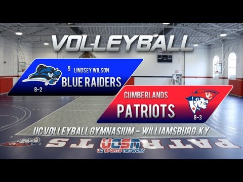 University of the Cumberlands - Volleyball vs. Lindsey Wilson College 2019
