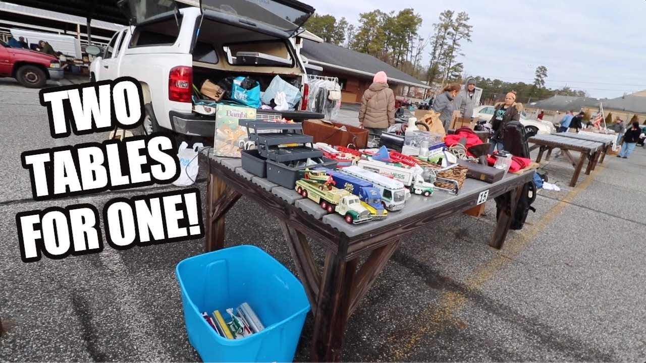 what is selling at flea markets