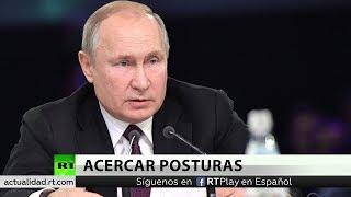 Putin habla de protestas en América Latina, rol de BRICS y crisis siria