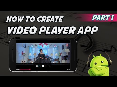 Android Studio Tutorial - How To Create Video Player App   Part 1