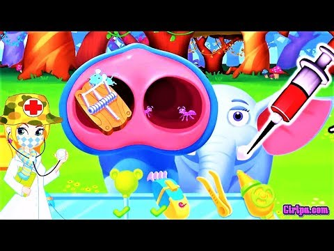 Fun Animal Care Kids Games - Elephant Care , Treatment and Doctor Dress up - Jungle Doctor by LiBii,