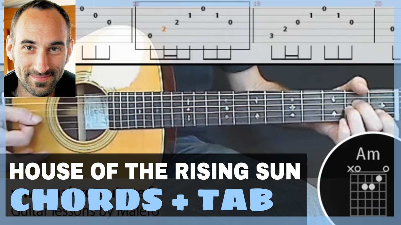 house of the rising sun tab pdf