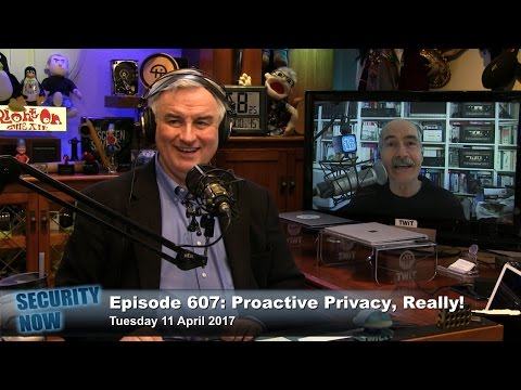 Security Now 607: Proactive Privacy, Really!