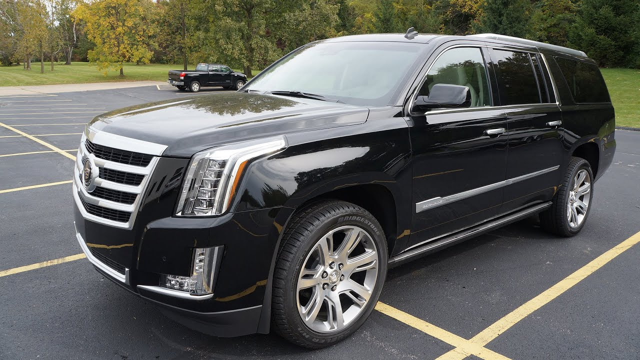 2015 Cadillac Escalade Esv 4wd Premium Видео Тест драйв