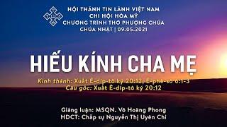HTTL HÒA MỸ - Chương trình thờ phượng Chúa - 9/05/2021