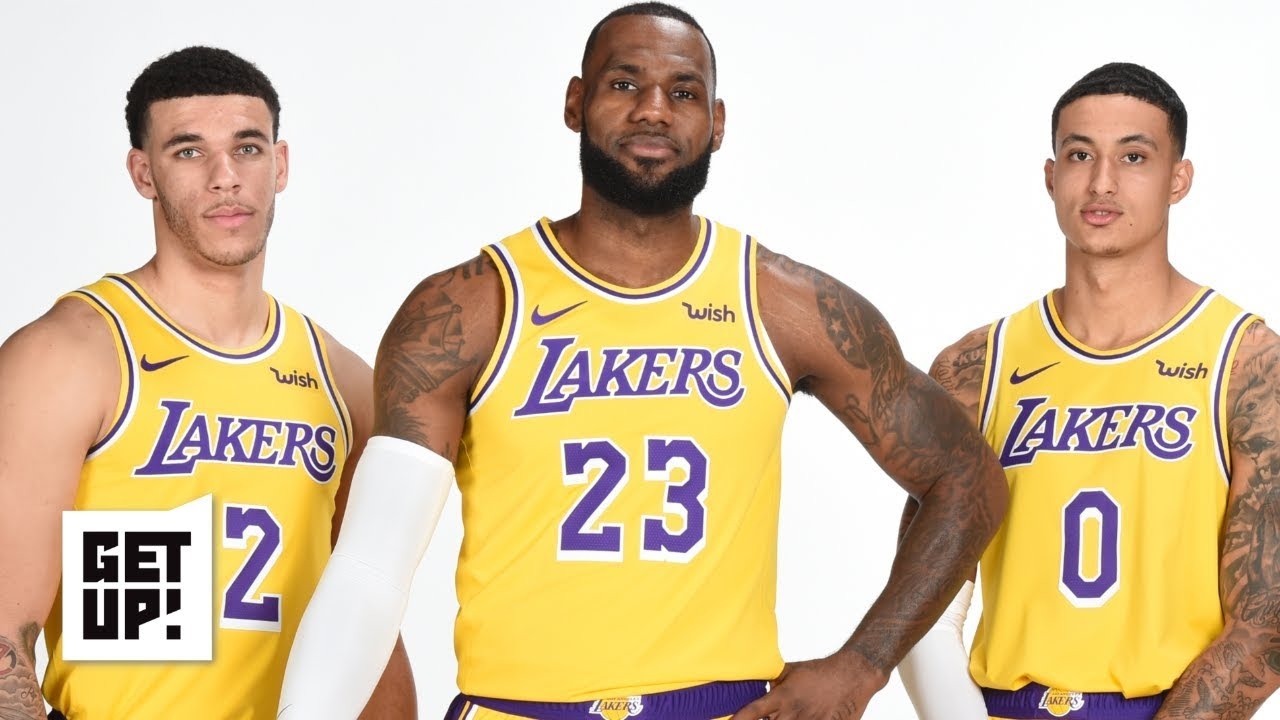 low priced 201c0 a1ffd Kyle Kuzma, Lonzo Ball and LeBron are the only Lakers worth keeping - Jalen  Rose   Get Up!