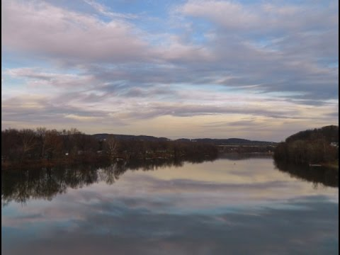Free Painting Lessons Allegheny River  part1