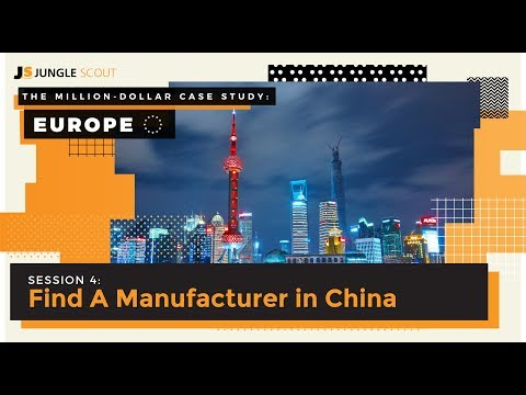 The Million Dollar Case Study: Europe – Session #4, Finding A Good Supplier