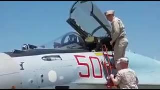 Асад посидел за штурвалом российского самолета