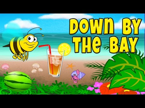 Down by the Bay with Lyrics - Nursery Rhymes - Children's Songs by The Learning Station