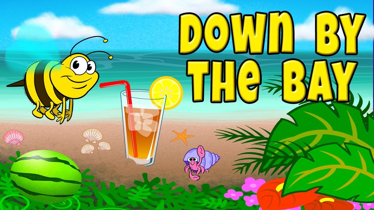 Down by the Bay with Lyrics - Nursery Rhymes - Children's Songs by ...