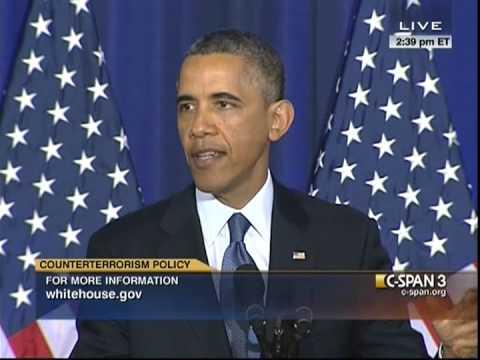 President Obama On National Security (Interrupted by Heckler)