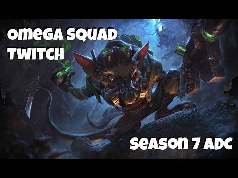 League of Legends: Omega Squad Twitch ADC Gameplay