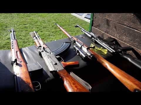 Guns, many guns. Open Day Hovorany Shooting Range Autumn 2017