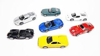 Коллекция моделей Ferrari в масштабе 1:43 | bburago | shell