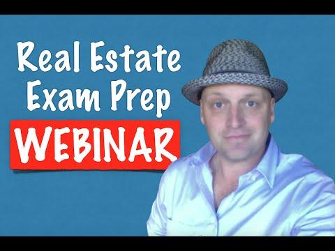 Amanda's Real Estate Exam Webinar #2