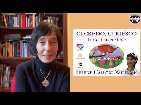 Evento: Selene Calloni Williams – Ci Credo, Ci Riesco – Milano, 18 Gennaio 2020