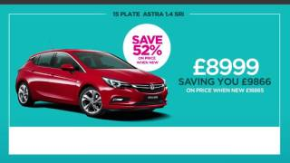 Peter Vardy Vauxhall | Best Buy Astra Sri