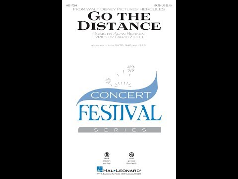 Go the Distance (SATB) - Arranged by John Leavitt
