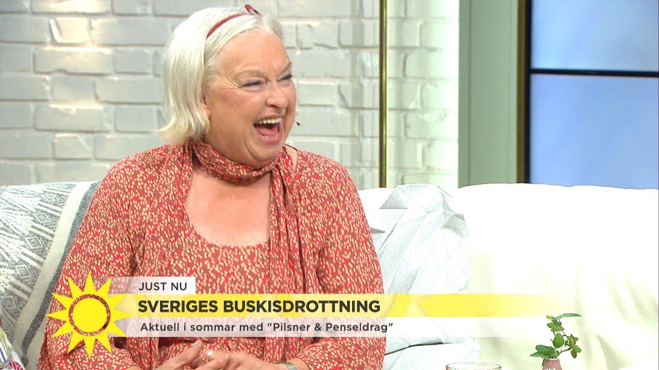 """Veteranen Siw Carlssons tränar hårt på äldre dar: """"Det var tur att jag blev sju - Nyhetsmorgon (TV4)"""