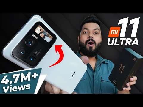 Mi 11 Ultra Unboxing & First Impressions | The Real Ultra Flagship?! ⚡120Hz,120X Zoom,SD888 & More