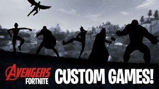 Avengers Fortnite Custom Matchmaking! Code 'twigg' | UK/EU
