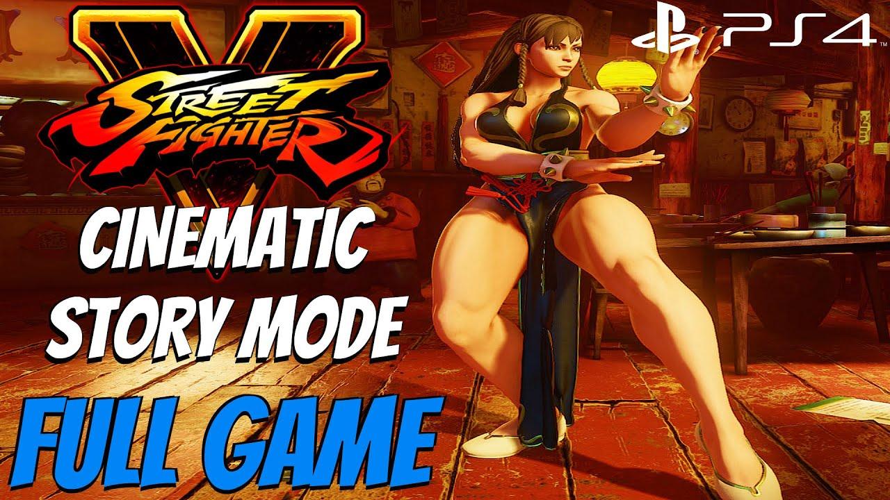 Download Street Fighter 5 - Gameplay Walkthrough Cinematic Story Mode FULL GAME [1080P 60FPS]