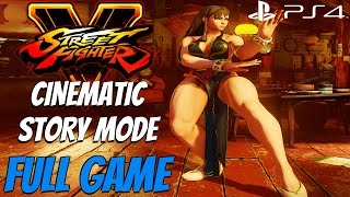 Street Fighter 5 - Gameplay Walkthrough Cinematic Story Mode FULL GAME [1080P 60FPS]