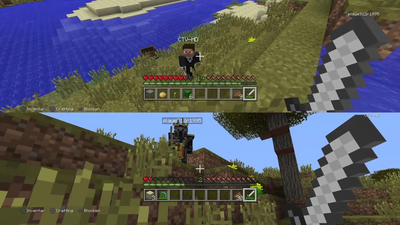 Minecraft Zu Zweit YouTube - Minecraft offline zu zweit spielen pc