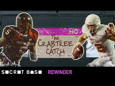 Michael Crabtree's legendary moment against Texas deserves a deep rewind