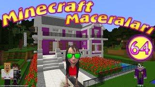 Momo Tırıvıdankus'un Evine Baskın Yaptı Minecraft Maceraları 64