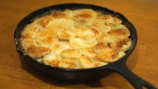 Potatoes Au Gratin Forestiere