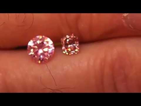 Argyle Pink diamond 0.42ct Radiant, 3PR (not 4P)  GIA FIP SI1