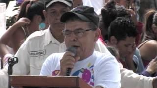 Presentación de Candidatos Alcalde, vice Alcalde y Consejales del FSLN Sébaco